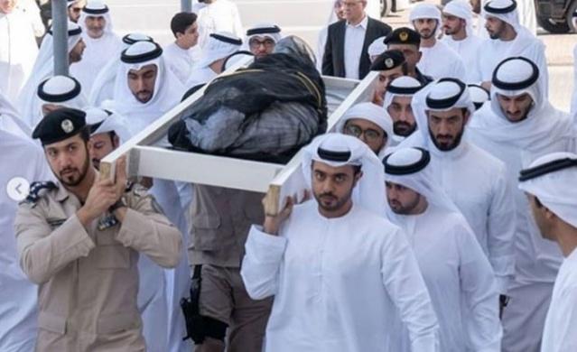 Londra'da hayatını kaybeden BAE Prensi Şeyh Halid bin Sultan el Kasımi için Arap Yarımadası'nda cenaze töreni düzenlendi.