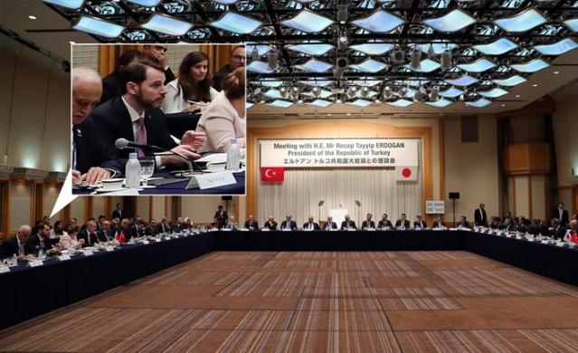 Cumhurbaşkanı Recep Tayyip Erdoğan, Japonya İş Federasyonu (Keidanren) tarafından düzenlenen Japon iş adamlarıyla buluşma toplantısına katıldı.