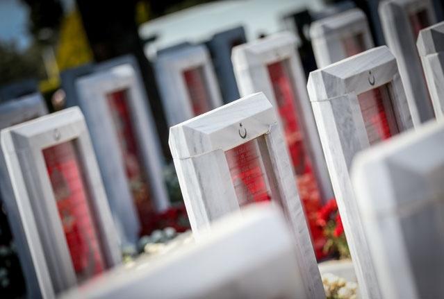 Tarihi alanda gerçekleştirilecek törenler için Şehitler Abidesi'ne 700 kişilik tribün kurulacak.