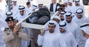 Grup sekste ölen BAE Prensi toprağa verildi
