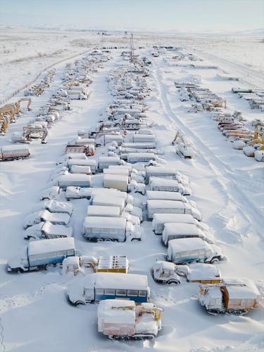 Rusya'nın karlar altındaki sessiz şehri: Vortuka