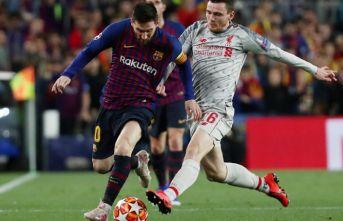 Barcelona, Liverpool'u farklı geçti