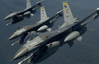 Irak'ta terör hedefleri imha edildi
