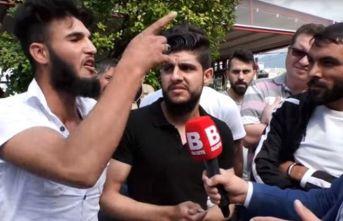 """""""Kafa keseceğim"""" diyen Suriyeli serbest bırakıldı"""