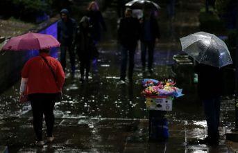 Ankara için yağış uyarısı