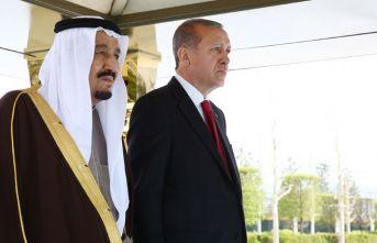 Erdoğan ile Kral Selman telefonda görüştü