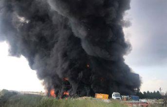Fabrika yangınında 2 tutuklama