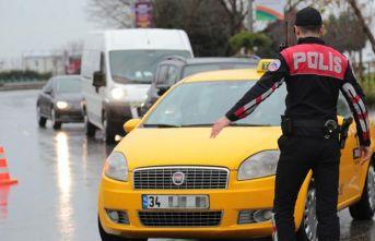 İstanbul'da taksicilere yönelik dev operasyon!