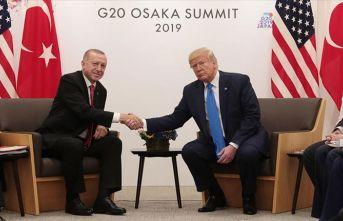 Trump: Türkiye'ye adil davranılmadı