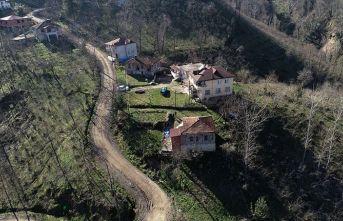 Ordu'da 69 ev boşaltıldı