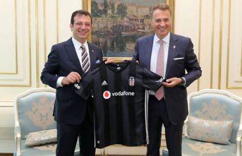 Beşiktaş yönetiminden İmamoğlu'na ziyaret