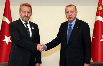 Erdoğan, Bakir İzetbegoviç'le görüştü