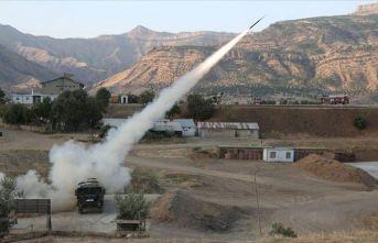 PKK inleri ateş altına alındı