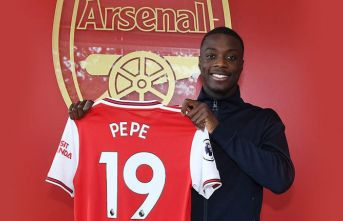 Arsenal Nicolas Pepe'yi rekor bedelle transfer etti