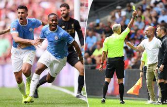 City kazandı, Guardiola sarardı