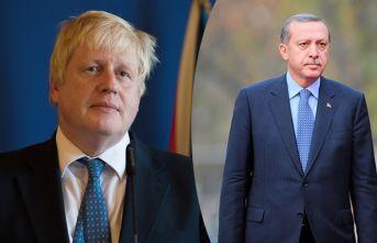 Erdoğan, Boris Johnson'ı tebrik etti