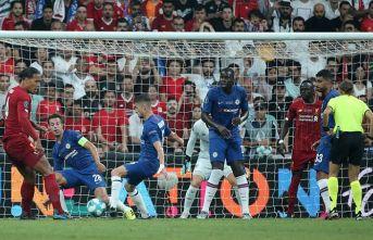 Süper Kupa Liverpool'un!