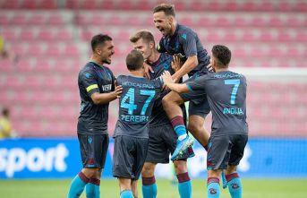 Trabzonspor, Çekya'da avantajı kaptı
