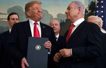 Trump çirkinleşti, İsrail tüy dikti!