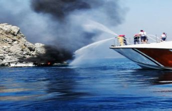 Tekne cayır cayır yandı! 34 ölü