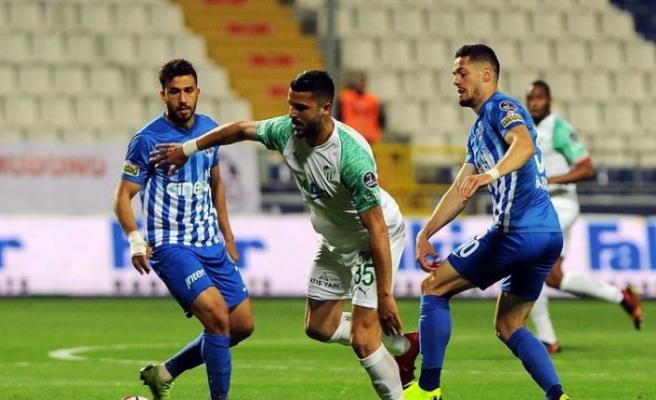 Kasımpaşa ile Bursaspor puanları paylaştı