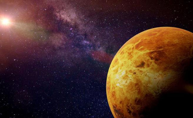 Venüs'te hava durumu!