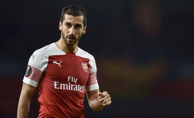 Arsenal'in Ermeni forveti finalde oynayamayacak