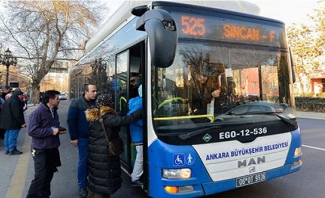 Bayramda Ankara'da ulaşım ücretsiz