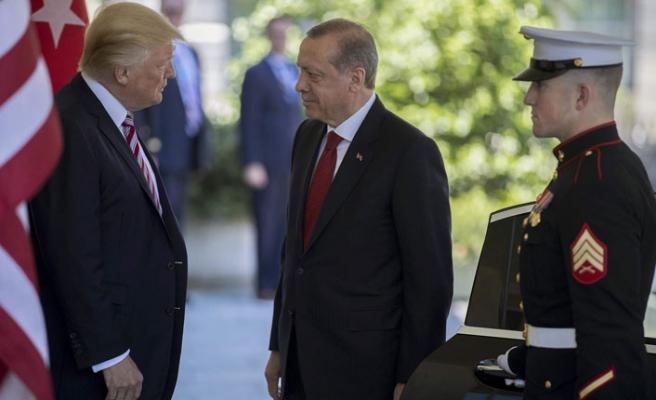 Erdoğan ile Trump bölgesel meseleleri görüştü