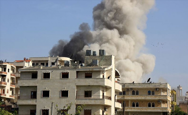 İdlib saldırılarında iki sağlık merkezi vuruldu