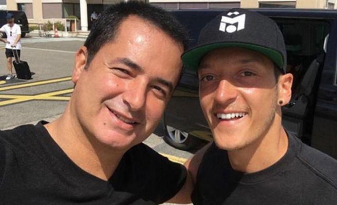 Mesut Özil ile Acun Ilıcalı komşu oldu
