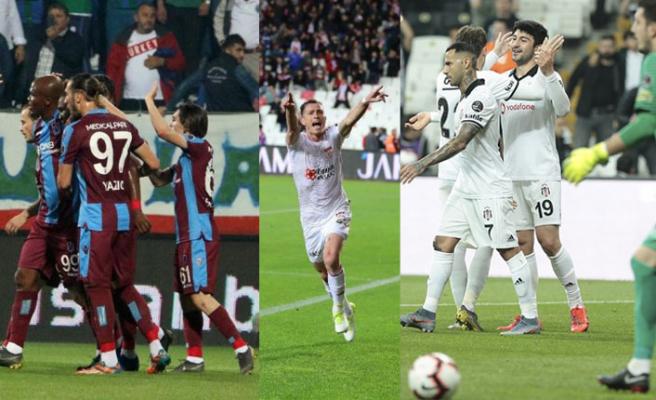 Süper Lig'in son haftası gollü başladı!