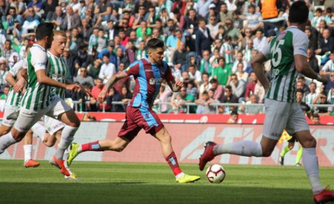 Trabzonspor 1 puana razı!