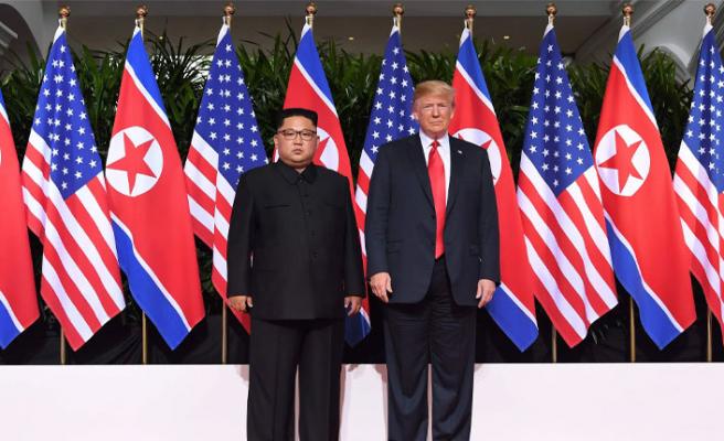 Trump'tan Kuzey Kore'ye: Nükleer silahlardan kurtulun!