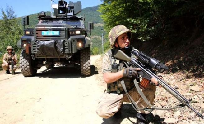 70 terörist etkisiz hâle getirildi