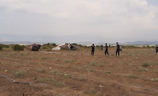Antalya'da uçak kazası: 2 ölü, 1 yaralı