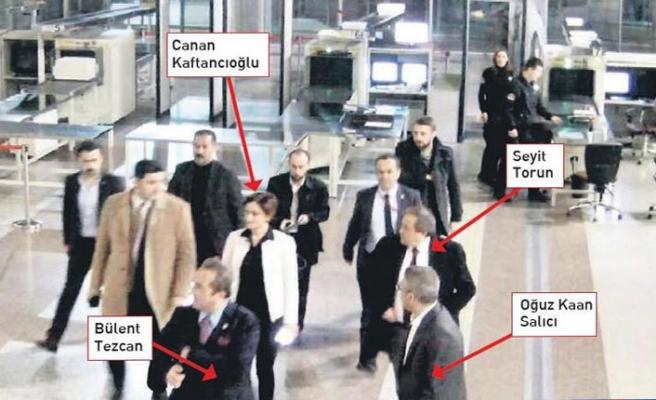 Erdoğan'dan, CHP'lilerin adliye görüntüleri ile ilgili açıklama