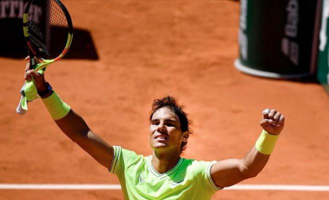 Fransa Açık'ta ilk finalist Nadal oldu