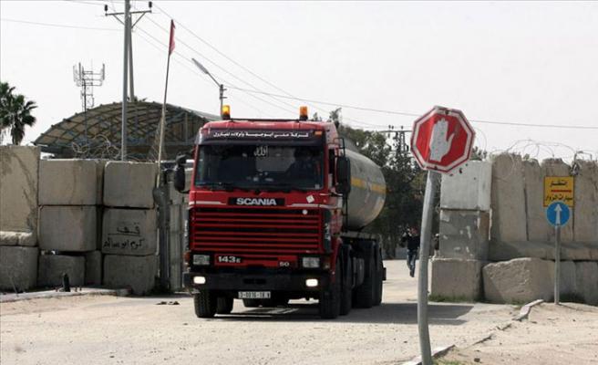 İsrail'den Gazze'ye akaryakıt engeli