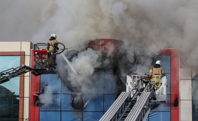 İSTOÇ'ta korkutan yangın