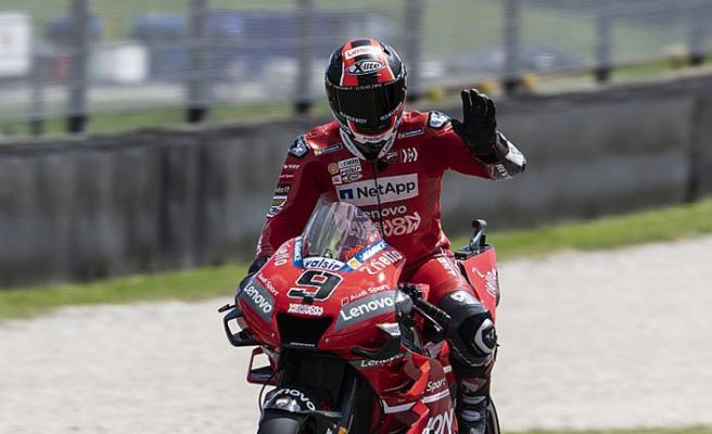MotoGP'de kazanan Petrucci!