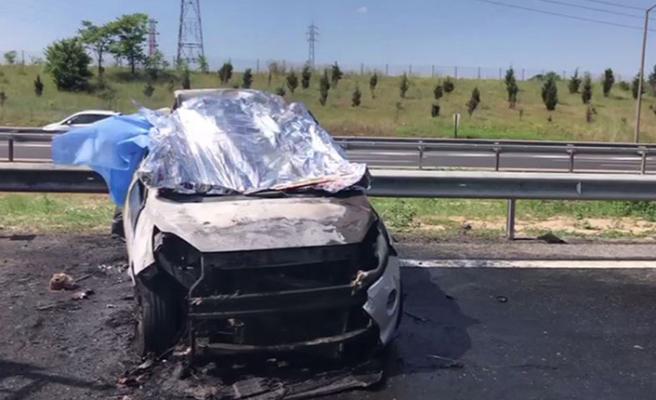 Tekirdağ'da feci kaza: 5 kişi öldü
