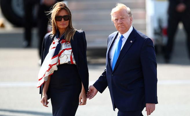 Trump'ın İngiltere temasları başladı
