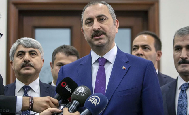 """Adalet Bakanı'ndan """"saldırgan baklavacı"""" açıklaması"""