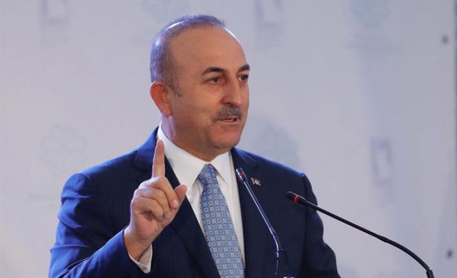 Çavuşoğlu'ndan rest: Söz hakları yok!