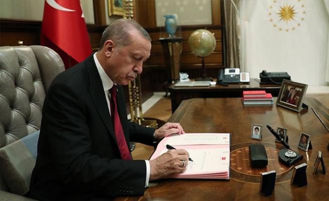 Erdoğan görevden aldı