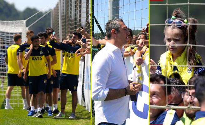 Fenerbahçe, taraftarları ile buluştu