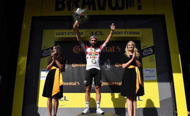 Fransa'da sekizinci etabın galibi Thomas De Gendt!