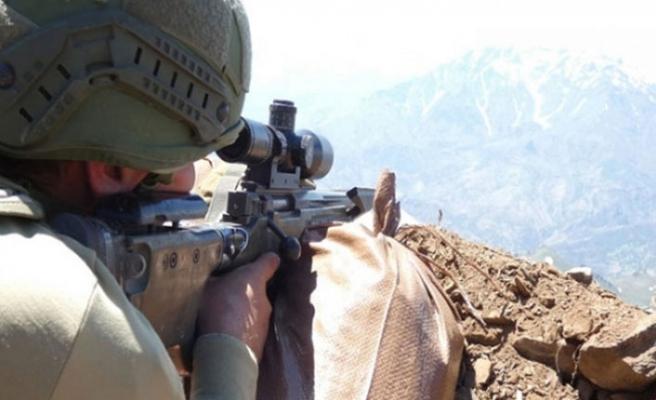 Hakkari'de operasyon! 3 terörist etkisiz