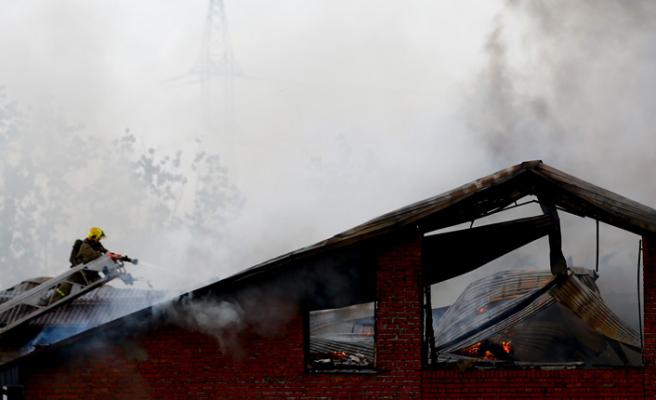 Moskova'da termik santral yangını: 11 yaralı